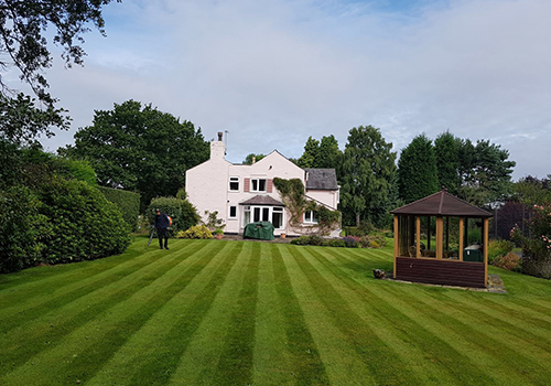 Lawn care in Cheshire