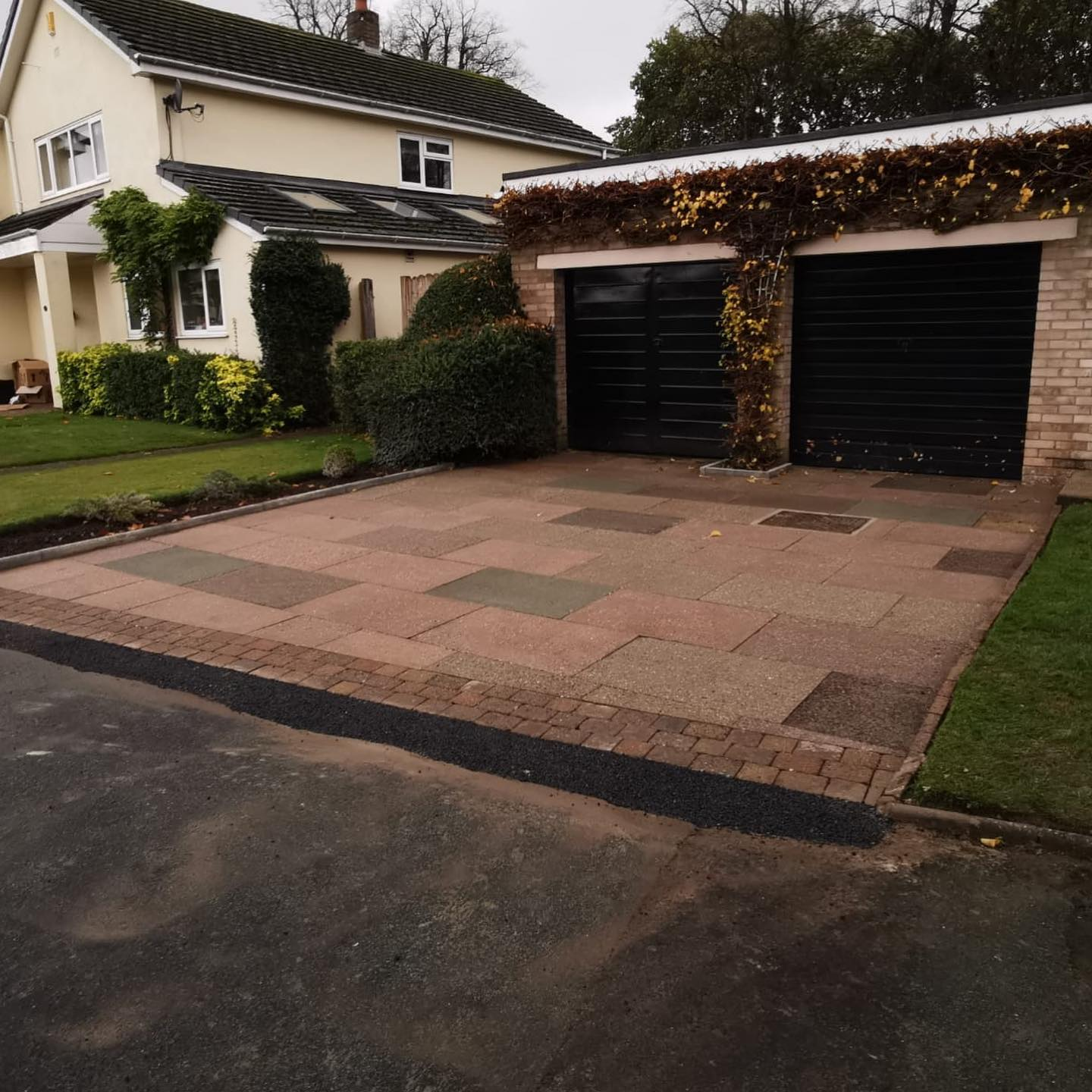 Driveway in Knutsford