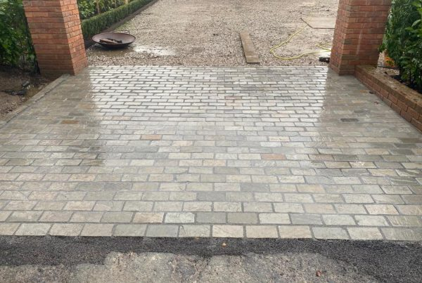Paving in Plumley