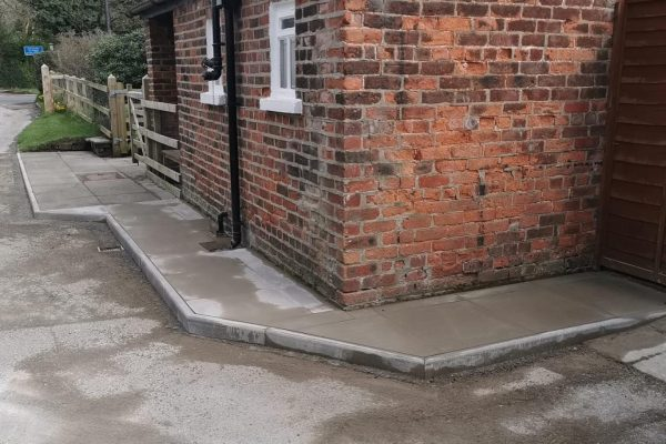 Paving in Cheshire