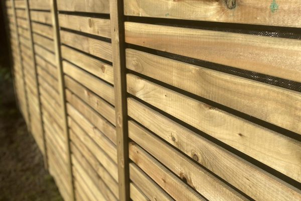 Garden Fencing in Knutsford